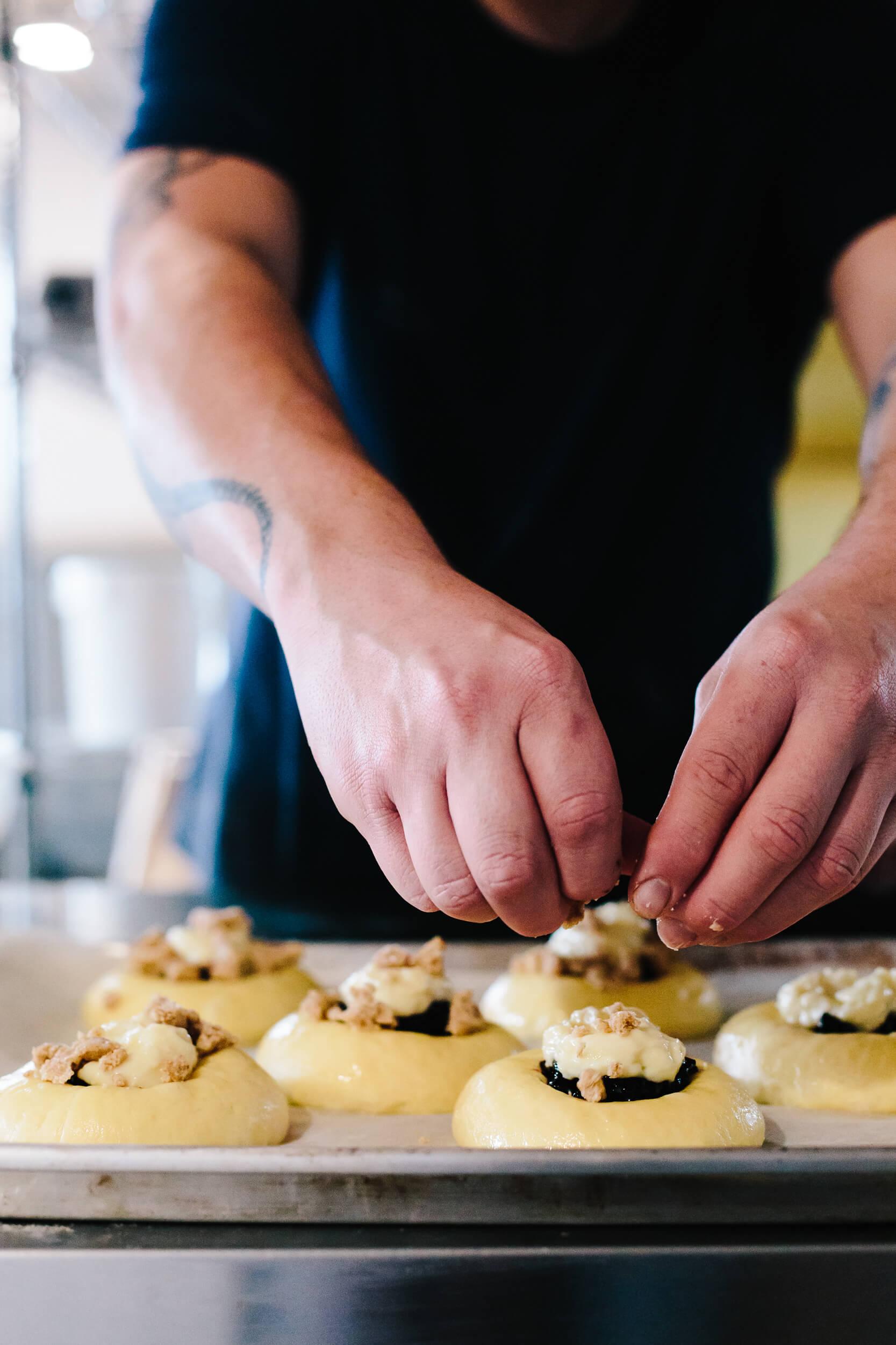 racines boulangerie fermiere isle-verte pâte brioche
