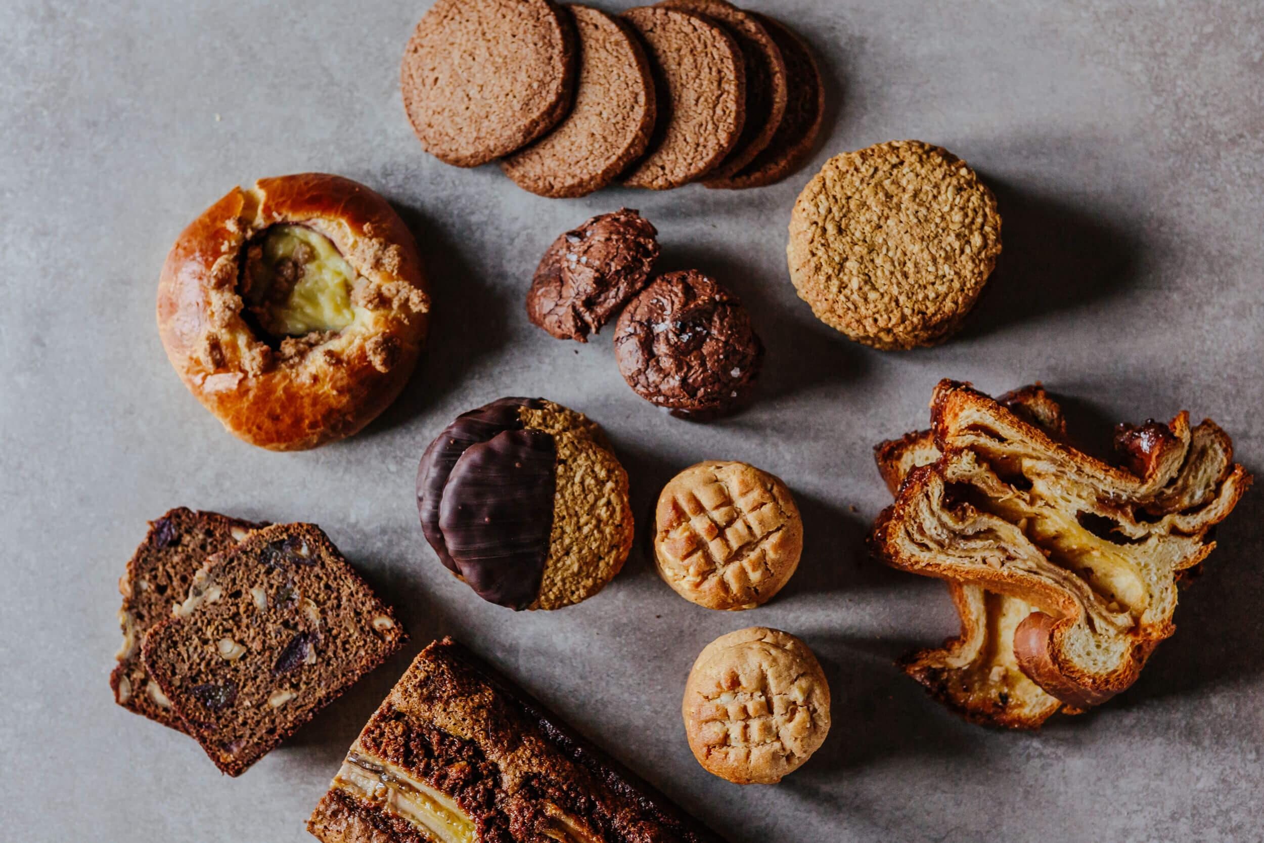sucré biscuits brioches racines boulangerie fermiere isle-verte bas-st-laurent