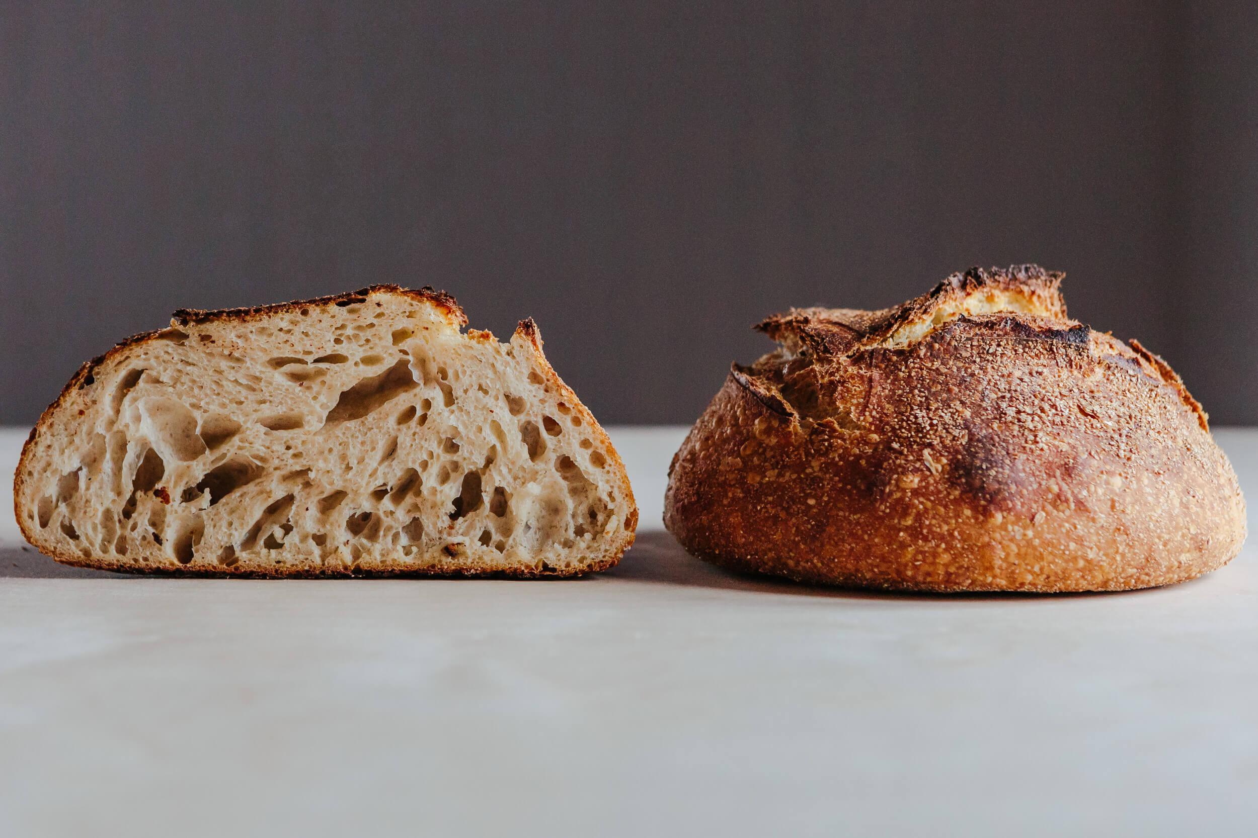pain blanche la blanche miche racines boulangerie fermiere isle-verte bas-st-laurent